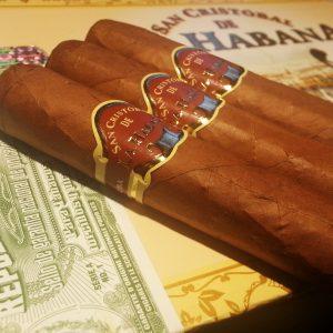 San Cristobal De La Habana Cuban Cigars