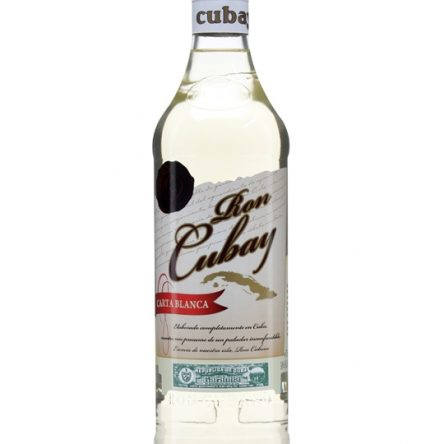 """RON CUBAY """"CARTA BLANCO"""" CUBAN RUM"""