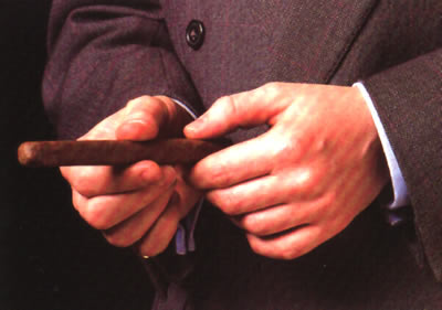 Cigar condition test.